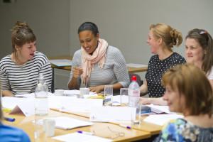 DSC training delegates learning and having fun