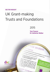 UK Grantmaking Trusts and Foundations book cover