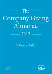 The company giving almanac book cover
