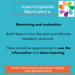 9 - monitoring and evaluation